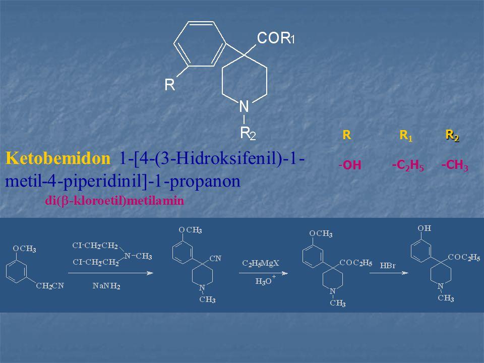 Ketobemidon 1-[4-(3-Hidroksifenil)-1-metil-4-piperidinil]-1-propanon